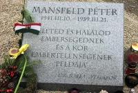 Szalay Róbert: Mansfeld Péter kivégzése