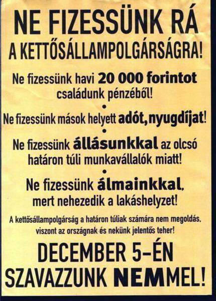 Ne feledjük, kik uszítottak magyart a magyarra!