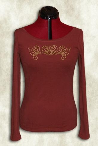 f7396901f5 Bárándi női hosszú ujjú póló. Bárándi honfoglaláskori motívumokkal.  Megtekinthető itt!