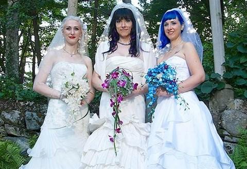 fekete leszbikus házasság